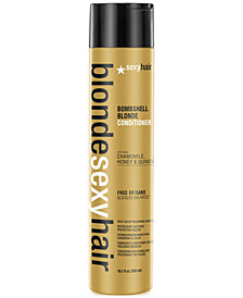Sexy Hair Blonde Sexy Hair Bombshell Blonde Daily Color Preserving Conditioner, 10.1-oz., from PUREBEAUTY Salon & Spa
