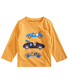 First Impressions Baby Boys Race Car-Print T-Shirt, Created for Macy's