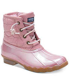 Sperry Little & Big Girls Saltwater Boots