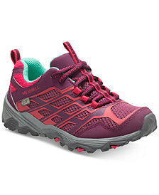 Merrell Big Girls Moab Low Waterproof Sneakers