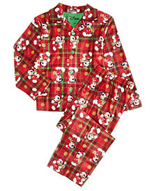 Mickey Mouse Toddler, Little & Big Boys 2-Pc. Printed Pajama Set