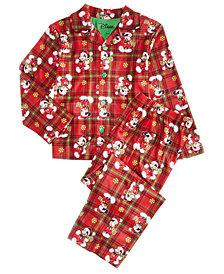 Mickey Mouse Toddler, Little & Big Boys 2-Pc. Printed Pajama Set