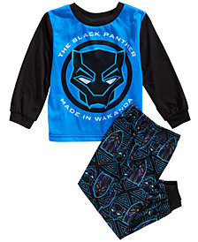 Marvel Toddler Boys 2-Pc. Black Panther Pajama Set