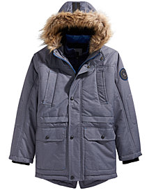RM 1958 Big Boys Ranger Expedition Hooded Parka With Faux-Fur Trim