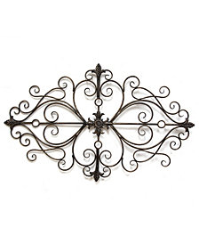 Stratton Home Decor Traditional Scroll Wall Decor