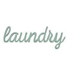 Stratton Home Decor Laundry Wall Art