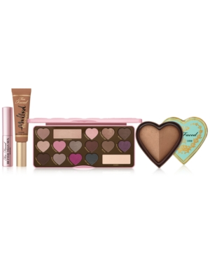 Too Faced 4-PC. SWEET & SEXY MAKEUP SET. A $135 VALUE!