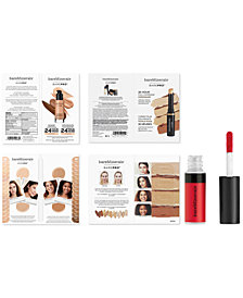 Receive a FREE 3-Pc. Makeup Gift with any $55 bareMinerals purchase!
