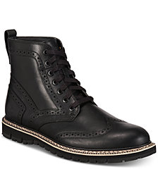 Timberland Men's Britton Hill Waterproof Wingtip Boots