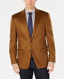 Lauren Ralph Lauren Men's Classic-Fit UltraFlex Stretch Vicuna Plain Cashmere Sport Coat