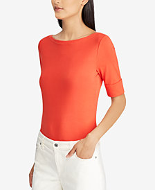 Lauren Ralph Lauren Stretch Bateau Shirt