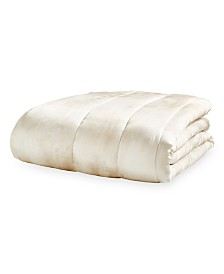 Michael Aram Ivory Textured King Quilt