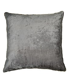 Michael Aram 18x18 Velvet and Bead Pillow