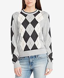 Lauren Ralph Lauren Argyle Sweater
