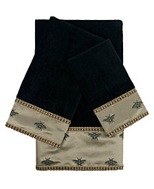 Sherry Kline Knoxville 3-piece Embellished Towel Set