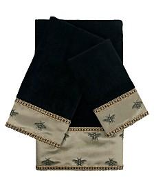 Sherry Kline Knoxville 3-piece Embellished Towel Set
