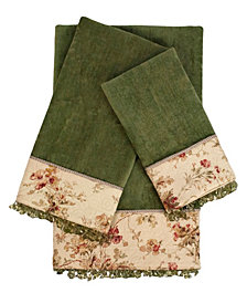Sherry Kline Cypress Decorative Embellished Towel Set