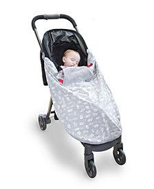 Cheeky Chompers Lux Cheeky Stroller Blanket Twinkle Twinkle