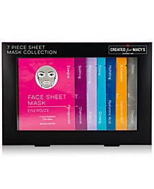 Macy's Beauty Collection 7-Pc. Sheet Mask Set, Created for Macy's