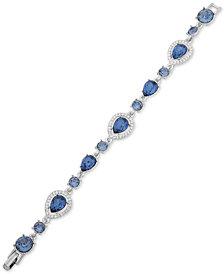Givenchy Stone & Crystal Halo Link Bracelet