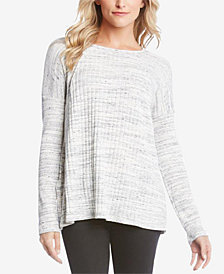 Karen Kane Ribbed Contrast Sweater