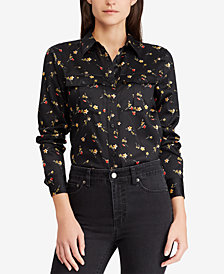 Ralph Lauren Petite Cotton Shirt