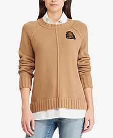 Ralph Lauren Petite Layered-Look Sweater
