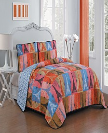 Cannes 3-Pc. Quilt Sets