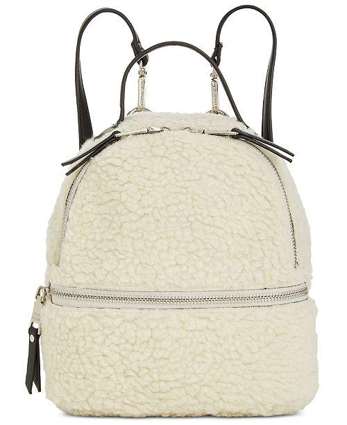 fe96ce06e1e Steve Madden Minnie Faux Fur Backpack & Reviews - Handbags ...