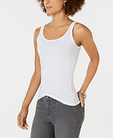 Style & Co Scoop-Neck Tank Top, Created for Macy's