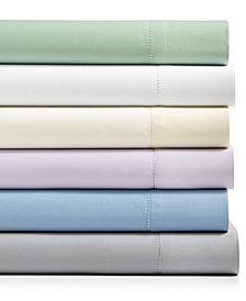 CLOSEOUT! Westport Solid 6-Pc. Sheet Sets, 1500 Thread Count Cotton Blend Sateen