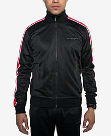 Sean John Men's Tricot Track Jacket