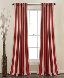 "Julia Stripe 52"" x 84"" Blackout Curtain Set"