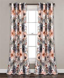 "Leah 84"" x 52"" Room Darkening Window Curtain Set"