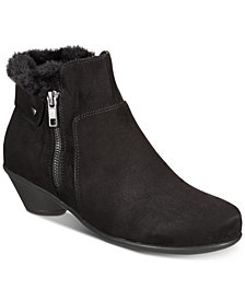 Karen Scott Ursah Cone-Heel Booties, Created for Macy's