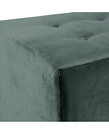 Merton 4-button Square Mystere Upholstered Ottoman