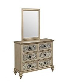 Home Styles Visions Dresser and Mirror