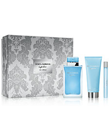 DOLCE&GABBANA 3-Pc. Light Blue Eau Intense Eau de Parfum Gift Set
