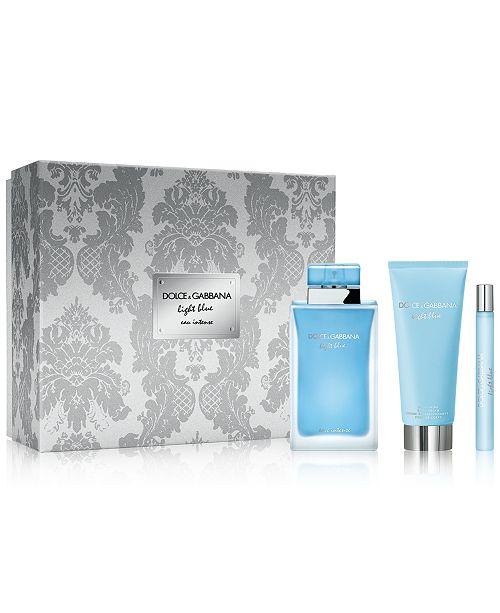 Dolce & Gabbana DOLCE&GABBANA 3-Pc. Light Blue Eau Intense Gift Set, A $165 Value