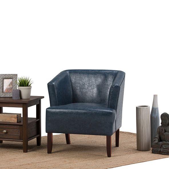 Simpli Home Longford Tub Chair