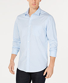 Club Room Men's Circle Print Shirt, Created for Macy's