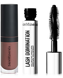 Receive a FREE Trial-Size Lip & Lash Duo with any $60 bareMinerals purchase