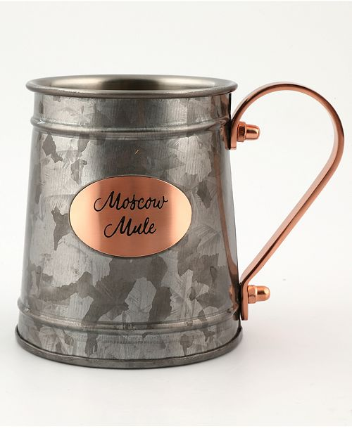 Thirstystone CLOSEOUT! Galvanized Mug with Copper-Plated Handle