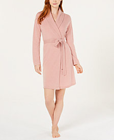 Charter Club Long Sleeve Cashmere Robe, Created for Macy's