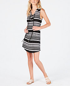 Dotti Ibiza Striped Tunic Cover-Up