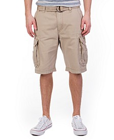 Men's Belted Survivor Cargo Short