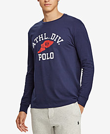 Polo Ralph Lauren Men's Graphic Cotton Long-Sleeve T-Shirt