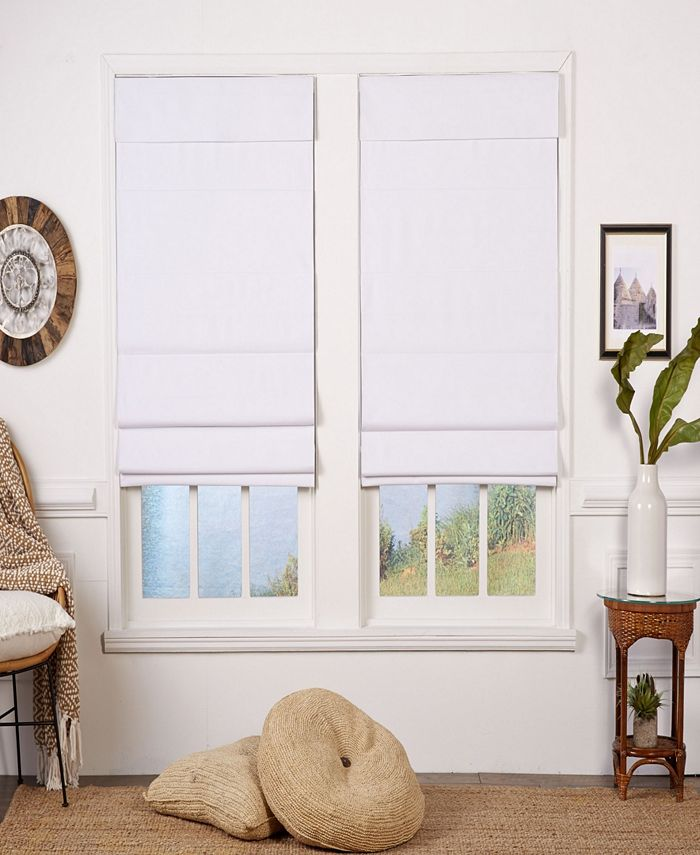 The Cordless Collection - Insulating Cordless Roman Shade, 28x72