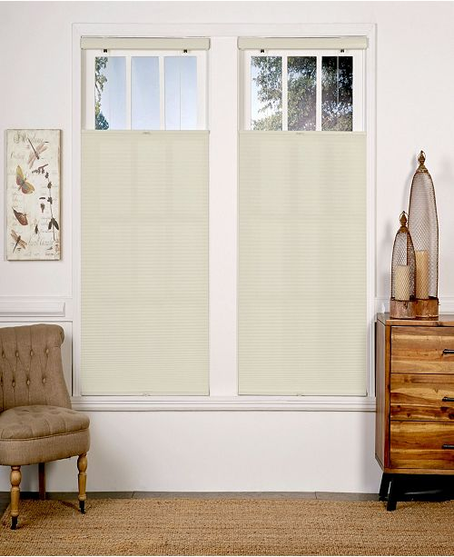 "The Cordless Collection Cordless Light Filtering Top Down Bottom Up Shade, 58"" x 72"""