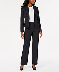 Le Suit Shawl-Collar Pantsuit